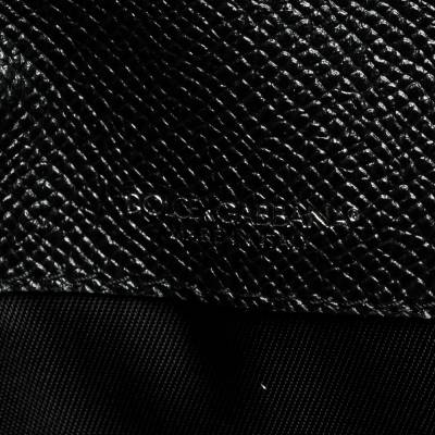 Dolce&Gabbana Black Leather iPad Envelope Case 293780 - 7