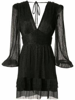 Rebecca Vallance платье мини Luna с V-образным вырезом 20022289