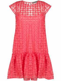 D'Exterior платье асимметричного кроя с вышивкой 50657