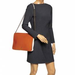 Carolina Herrera Multicolor Leather New Baltazar Flap Shoulder Bag 293757