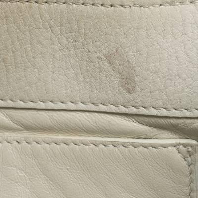 Gucci White Leather Shoulder Bag 293759 - 8