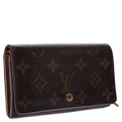 Louis Vuitton Monogram Canvas Porte Monnaie Tresor Wallet 294250 - 2