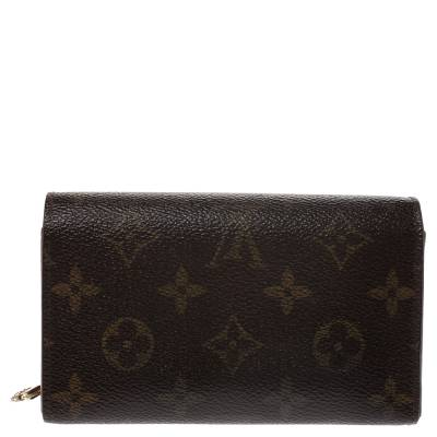 Louis Vuitton Monogram Canvas Porte Monnaie Tresor Wallet 294250 - 3
