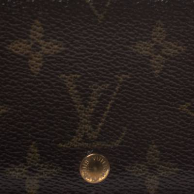 Louis Vuitton Monogram Canvas Porte Monnaie Tresor Wallet 294250 - 4