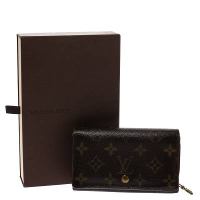 Louis Vuitton Monogram Canvas Porte Monnaie Tresor Wallet 294250 - 7