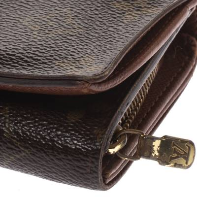 Louis Vuitton Monogram Canvas Porte Monnaie Tresor Wallet 294250 - 9