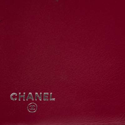 Chanel Punch Pink Quilted Leather Vertical Flap Wallet 294256 - 8
