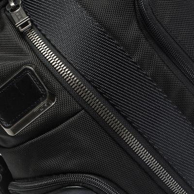 Tumi Black Nylon and Leather Alpha Bravo Saratoga Sling Bag 293743 - 4
