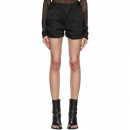Ann Demeulemeester Black Moonrise Shorts 2001-1444-138-099