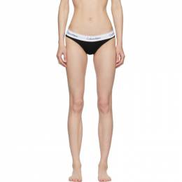 Calvin Klein Underwear Black and White Modern Bikini Briefs F3787