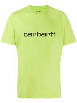 Carhartt Wip футболка с круглым вырезом и логотипом I02380303