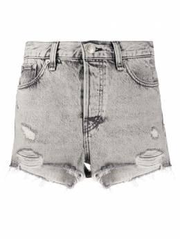Rag&Bone джинсовые шорты с эффектом потертости WDD20P1902D3AH
