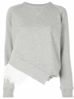 No. 21 свитер с отделкой перьями 20EN1M0E0214214