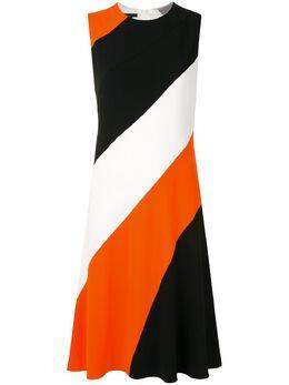 Escada платье без рукавов со вставками 5032495