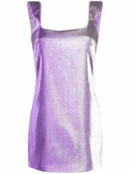 Area платье мини с глубоким вырезом сзади SS20D20005