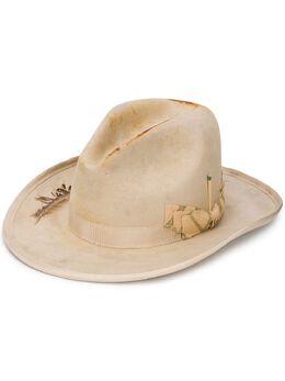 Nick Fouquet декорированная шляпа-федора 536SANMIGUEL
