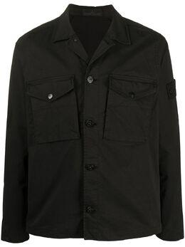 Stone Island куртка-рубашка на пуговицах 7215123F2