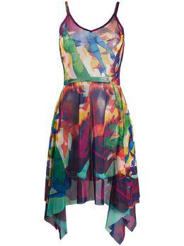 Jean Paul Gaultier Pre-Owned платье 1998-го года с абстрактным принтом JPG494B