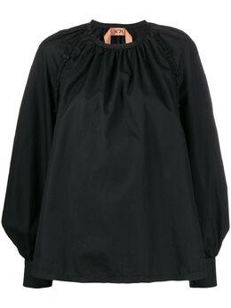 No. 21 блузка на пуговицах со сборками 20EN2S0G0820605