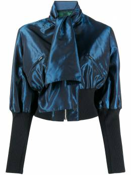 Jean Paul Gaultier Pre-Owned блузка 1991-го года на молнии с бантом JPG2185