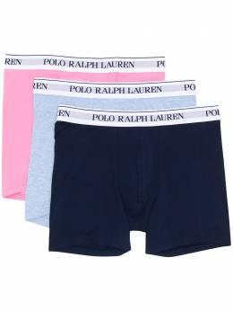 Polo Ralph Lauren logo print briefs set 714730410014