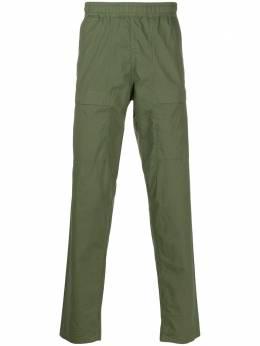 Stone Island брюки карго с эластичным поясом MO721530503