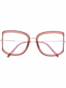 Tom Ford Eyewear очки в массивной квадратной оправе TF5670B