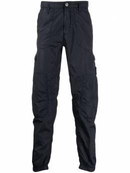 Stone Island зауженные брюки карго MO721532029