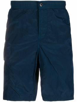 Stone Island длинные шорты карго MO7215B0343