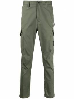 Stone Island зауженные брюки карго MO721531305