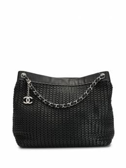 Chanel Pre-Owned сумка-тоут с логотипом CC 20878