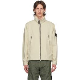 Stone Island Beige Short Jacket 721540827