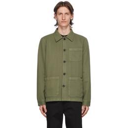 Nudie Jeans Khaki Barney Jacket 160676