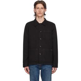 Nudie Jeans Black Barney Jacket 160676