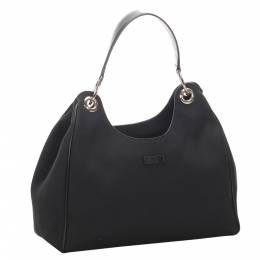 Gucci Black Canvas Tote Bag 294144