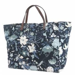 Gucci Blue Flora Canvas Tote Bag 294034