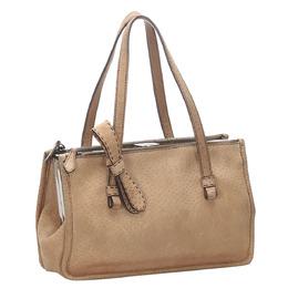 Prada Brown Calf Leather Tote Bag 293850