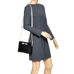 Kate Spade Black/Pink Leather Street Fannie Crossbody Bag 294562