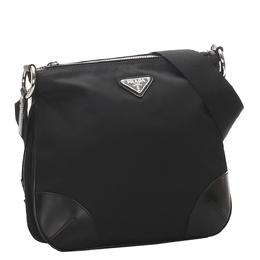 Prada Black Nylon Tessuto Crossbody Bag 291504