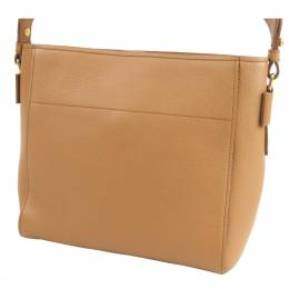 Prada Brown Leather Vitello Daino Crossbody Bag 286827