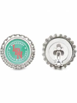 Burberry серьги Bottle Cap 8022033