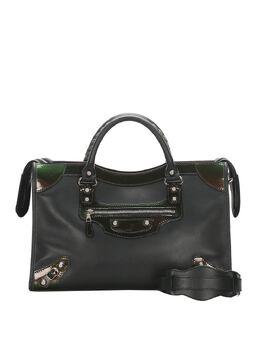 Balenciaga Pre-Owned City iridescent panel tote bag 0BBGST006