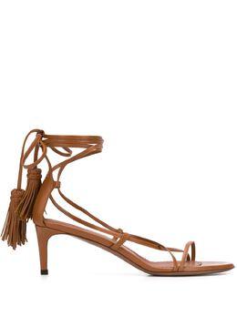 L'Autre Chose strappy hanging tassel sandals OSL13555CP