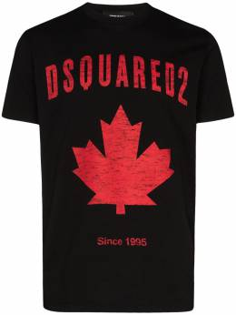 Dsquared2 Canada logo-print T-shirt S74GD0706S22427
