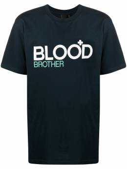 Blood Brother футболка Trademark BS20TRADEMARK25NVY