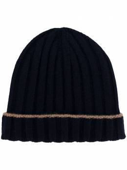 Brunello Cucinelli ribbed knit beanie hat M2240900