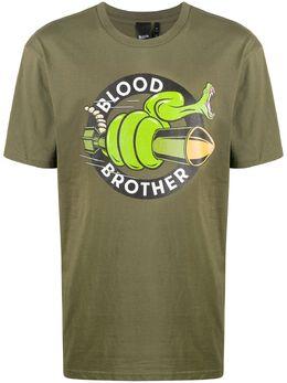 Blood Brother футболка Snake с логотипом BS20SNAKE25KHK