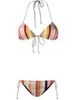 Missoni Mare striped bikini set MMP00171BK00KY