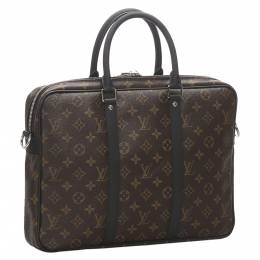 Louis Vuitton Monogram Canvas Macassar Porte-Documents Jour Bag 278112