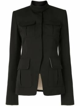 Vera Wang строгий пиджак в стиле милитари R220J33